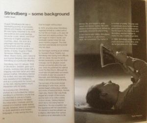 Strindberg published